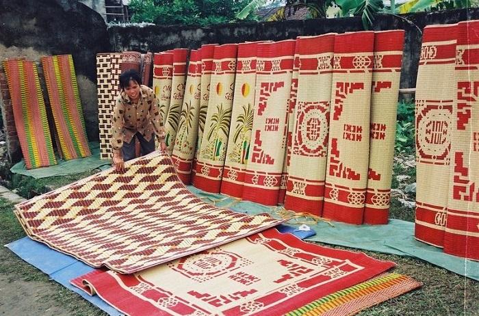Chiếu cói Kim Sơn - Ninh Bình